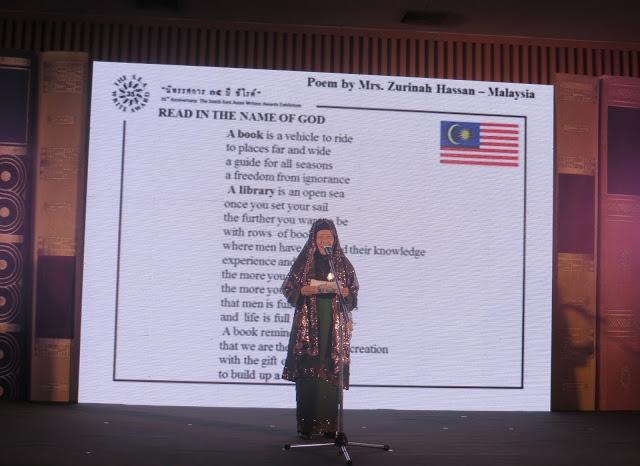 WORLD BOOK POETRY READING DI BANGKOK CULTURAL CENTRE