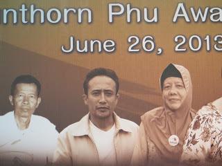 KENANGAN ANUGERAH SUNTHORN PHU , bangkok 26-30 Jun 2013