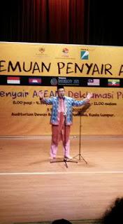 PEMAIN MONOLOG ASEAN:  Zefri Ariff Brunei