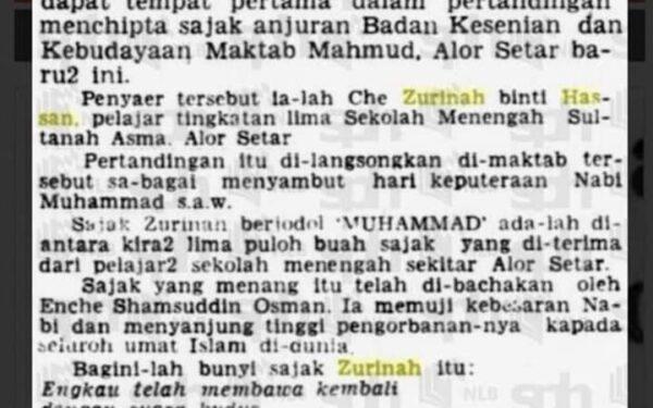 Saya Dinsman Zubir Ali